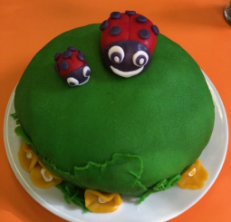 Beruškový dort :)