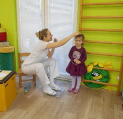 Návštěva Fyzioterapeutky