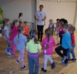 Předškoláci sportují