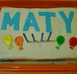 Slavíme Matyho 4. narozeniny